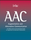 AAC, Augmentative and Alternative Communication, journal cover