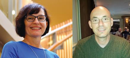 Beata Batorowicz and Sidney Givigi, Speakers, ISAAC Connect