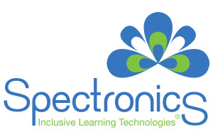 Spectronics Logo, Inclusive Learning Technologies, registered trademark