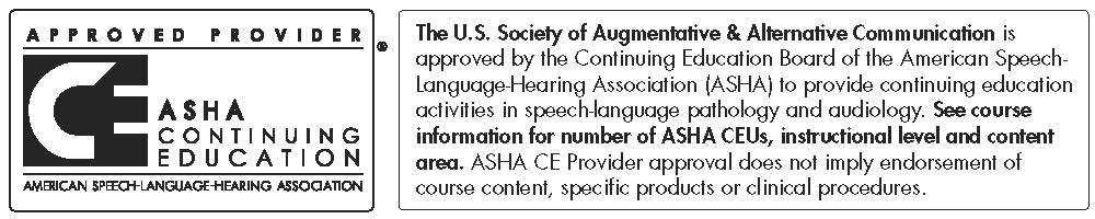 ASHA Continuing Education Units