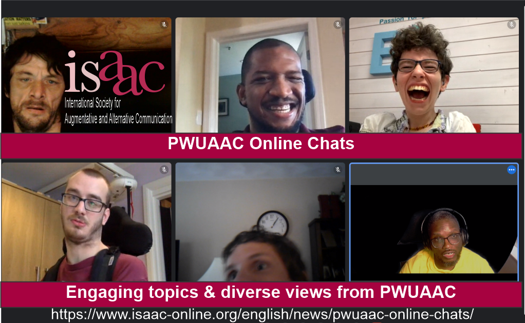 ISAAC PWUAAC Online Chats. Engaging topics and diverse views. Photos of chat leaders from around the world.